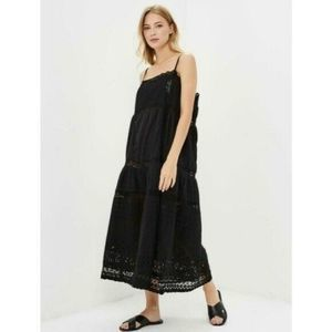 NWT Free People This is It Black Dress